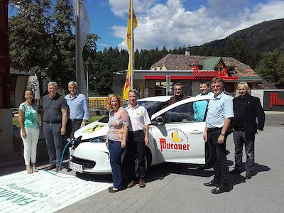 FAMILY eCarsharing Murau